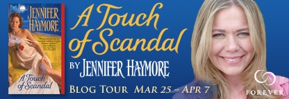 Blog Tour, Review and Giveaway: A Touch of Scandal by Jennifer Haymore