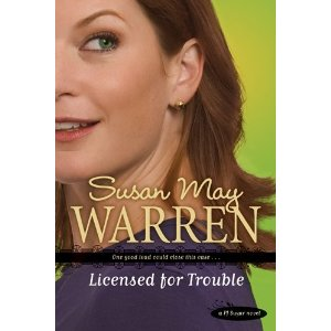 Blog Tour, Book Review and Giveaway – Licensed for Trouble by Susan May Warren