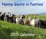 Tricks and Treats – Giveaway: The Nanny Goats in Panties 2011 Calendar