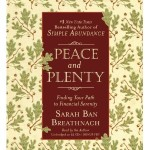 Giveaway: Peace and Plenty (audiobook) by Sarah Ban Breathnach