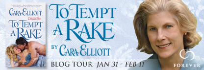 Blog Tour and Giveaway: To Tempt a Rake by Cara Elliot