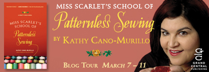 Blog Tour and Book Review and #Giveaway:  Miss Scarlett's School of Patternless Sewing by Kathy Cano- Murillo