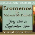 Blog Tour, Book Review and #Giveaway:  Eromenos by Melanie McDonald #EromenosVirtualBookTour