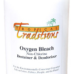 Review and Giveaway:  Tropical Traditions Oxygen Bleach