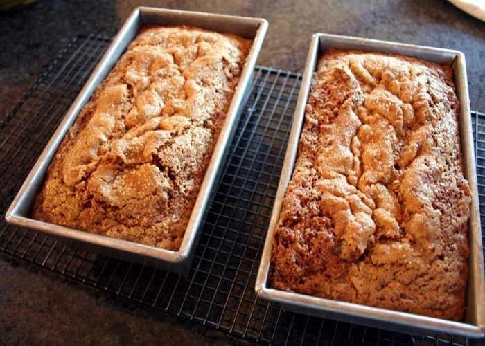Spiced Zucchini Bread with Dried Cranberries