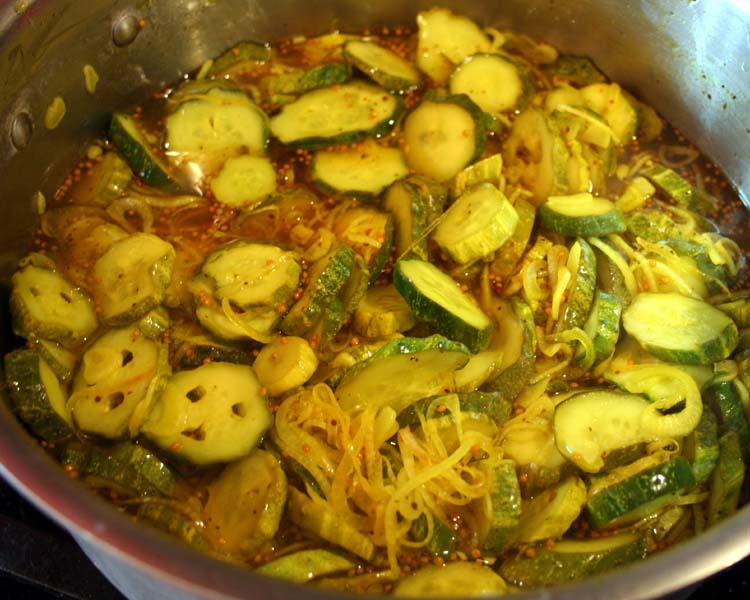 add spices, vinegar and sugar