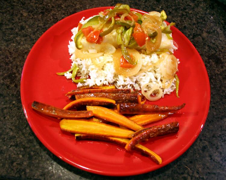 chilean sea bass on jasmine rice