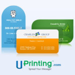 #Giveaway – UPrinting Die Cut Business Cards