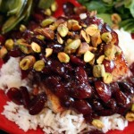 What's For Dinner? – Mahi-Mahi with Cherry Sauce with Pistachios on Jasmine Rice