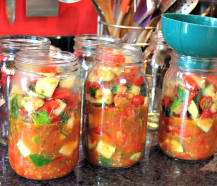 Canning Ratatouille