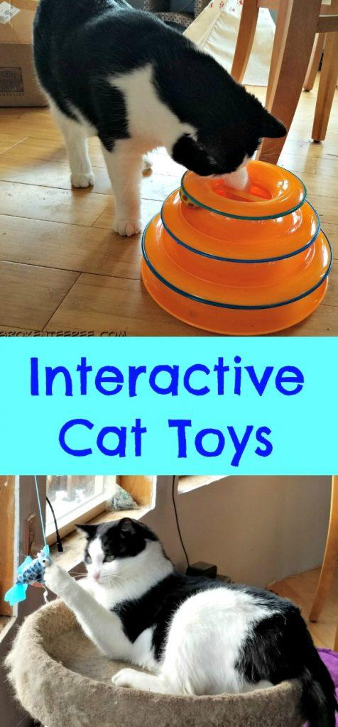 Interactive Cat Toys, CatAmazing, Tower of Tracks, Hartz Gone Fishin', AD