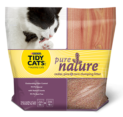 Tidy Cats Pure Nature Litter – Review and Giveaway
