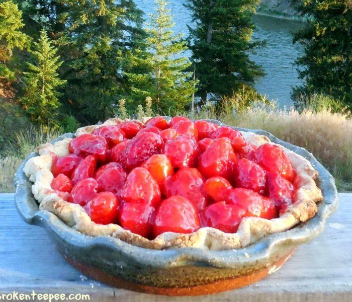 Strawberry Pie Recipe – Delicious with Vanilla Ice Cream