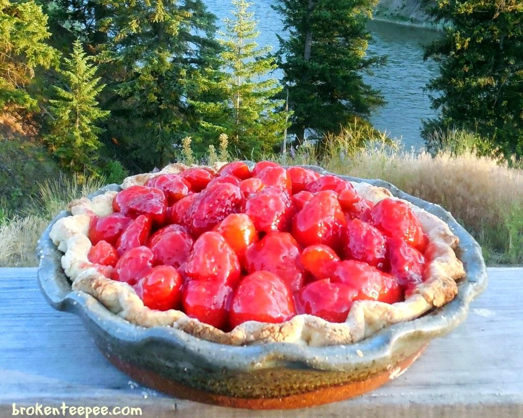 strawberry pie, strawberry pie recipe