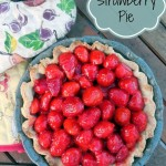 Strawberry Pie with Vanilla Ice Cream – Recipe