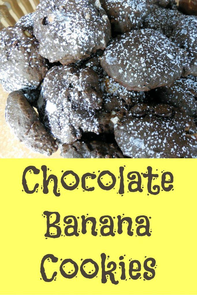 chocolate banana cookies