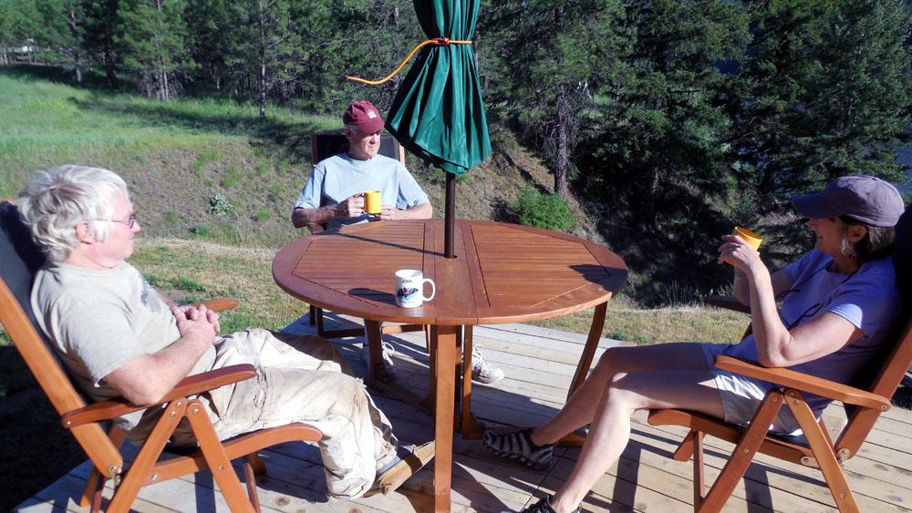 Gevalia safeway and my new deck made for a lovely day safewaygevalia cgc broken teepee - Defrost chicken safe way ...