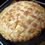 Classic Peach Pie with a Small Twist – Recipe