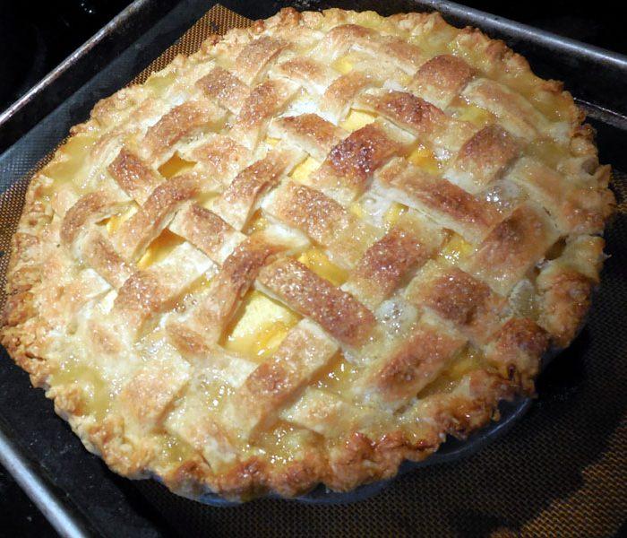 Classic Peach Pie with a Small Twist – Recipe