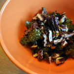 Spiced Candied Pecans on Roasted Broccoli – Recipe
