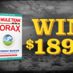 Celebrate 122 Years of Borax and Win! #ad