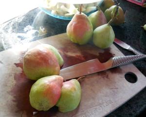 pear jam recipe, ginger spiced pear jam