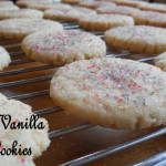 Baking for the Firemen: Heirloom Vanilla Sugar Cookies