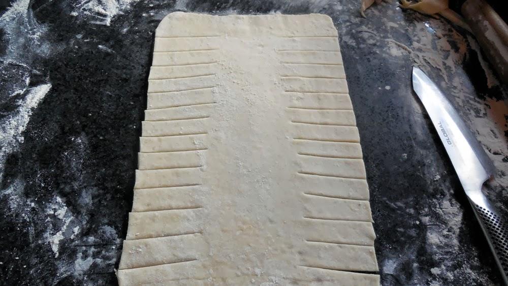 cut strips down sides