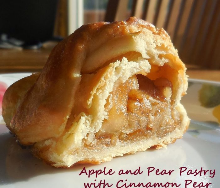 Apple and Pear Pastry with Cinnamon Pear Balsamic Caramel – Recipe