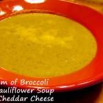 Cream of Broccoli and Cauliflower Soup – Recipe