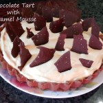 Baking for the Firemen:  Chocolate Tart with Caramel Mousse – Recipe