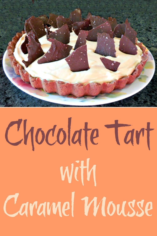 Chocolate Tart with Caramel Mousse - Recipe