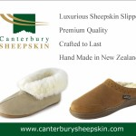 Holiday 2013 and Beyond – Warm, Luxurious Sheepskin Slippers from Canterbury Sheepskin – Review, Coupon Code and Giveaway #spon