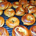 homemade bagels, making homemade bagels, bagels