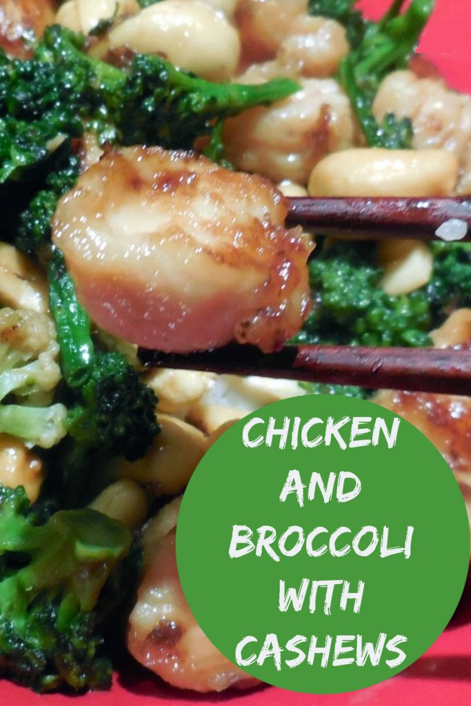 chicken and broccoli with cashews, chicken stir fry recipe