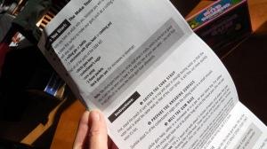 Glee Gum Make Your Own Candy Kit Instruction Sheet, #spon