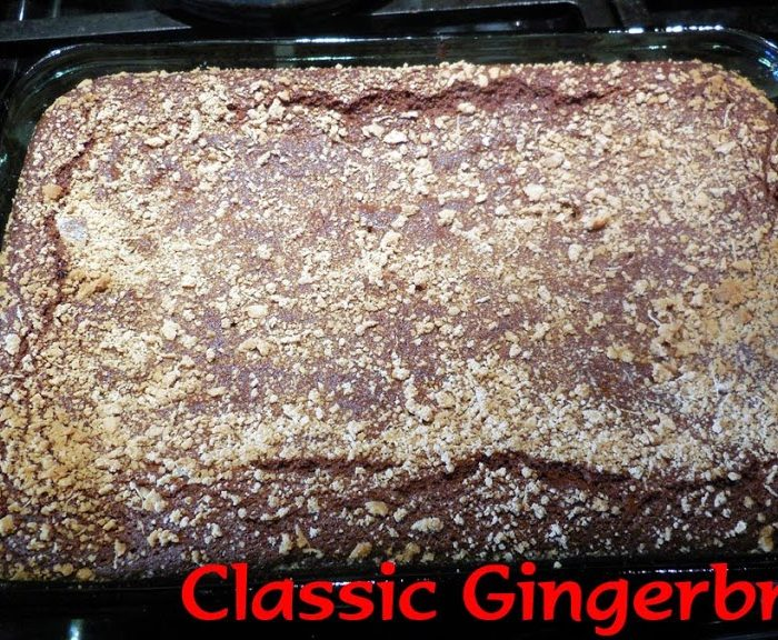 Baking for the Firemen:  Classic Gingerbread – Recipe
