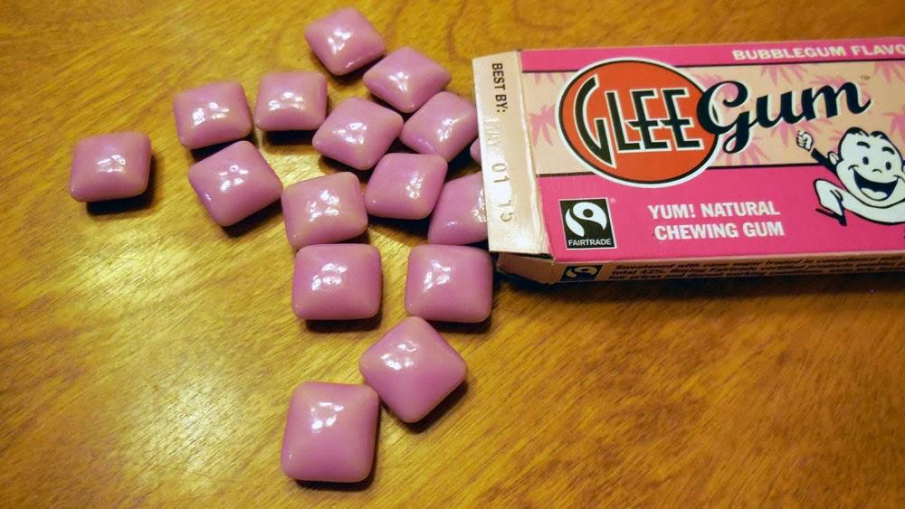 Glee Gum, Bubblegum Flavor, #spon