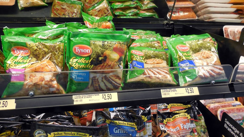 Tyson Grilled and Ready in Walmart, #ad