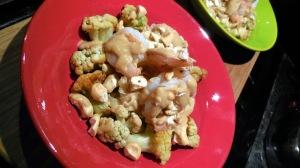 Shrimp in Peanut Sauce