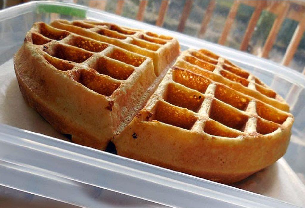 belgian waffles to freeze