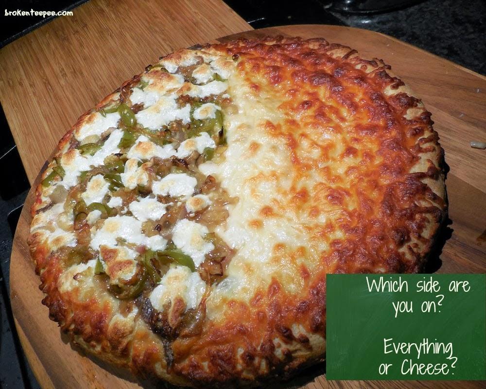 cooked DiGiorno Pizza, #spon, #shop, #cbias