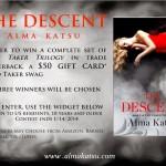 Taker Trilogy Giveaway from Alma Katsu