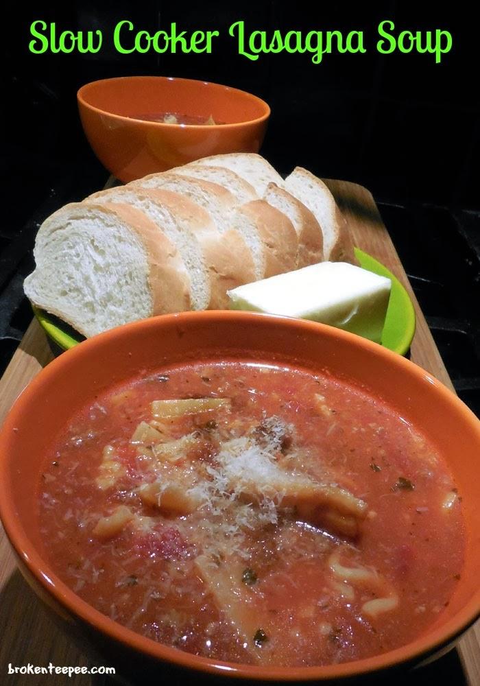 Slow Cooker Lasagna Soup, Stouffer's Party Size Lasagna with Meat and Sauce, #spon, #shop, #cbias