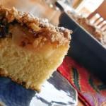 pear coffee cake, coffee cake recipes