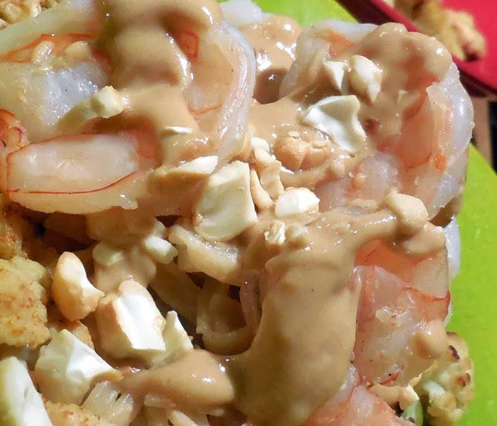 Shrimp Recipe: Shrimp in Peanut Sauce