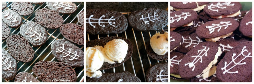 how to make Game Day Ice Cream Sandwiches with Dreyer's Ice Cream, #spon, #shop, #cbias