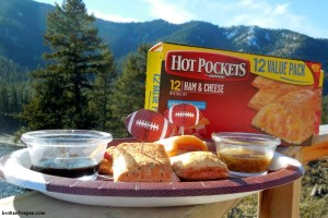 Hot Pockets with dipping sauces, #spon, #shop, #cbias