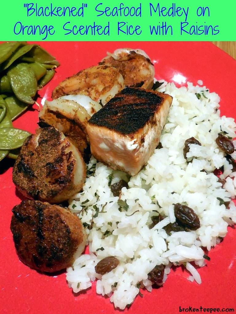 Valentine's Day Recipe, low calorie Valentine's recipe, low calorie recipe, low calorie seafood recipe, seafood recipe, salmon recipe, scallop recipe, low calorie salmon recipe, low calorie scallop recipe