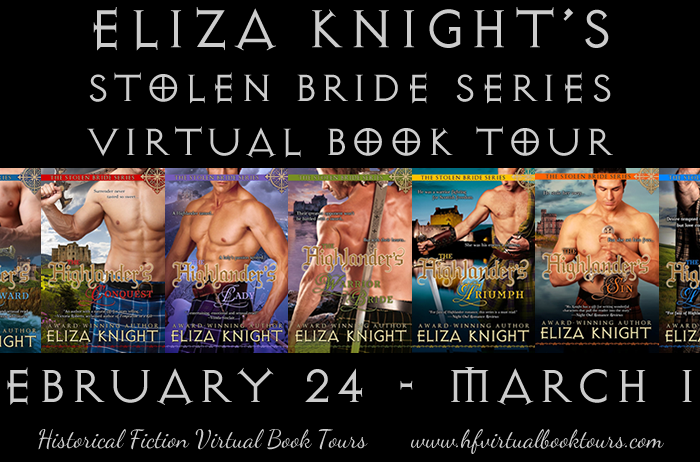 Guest Post from Eliza Knight, Author of the Stolen Bride Series #StolenBrideSeriesVirtualTour